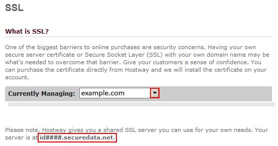 SSL Certificates Introduction – Hostway Help Center