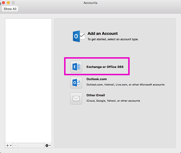 add an office 365 account to outlook 2016 for mac hostway help center
