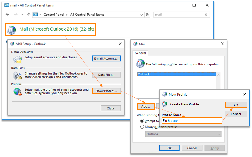 How Do I Configure Outlook 2016 To Connect To Exchange – Hostway