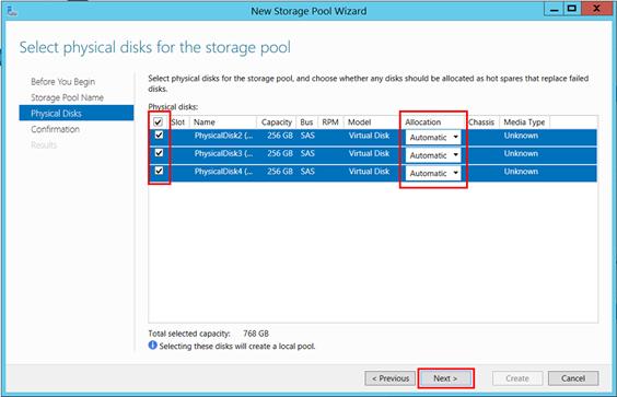 Software RAID configuration - Windows Server 2012 – Hostway Help Center