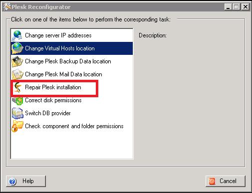 How to repair Plesk installation on Windows Server – Hostway Help Center