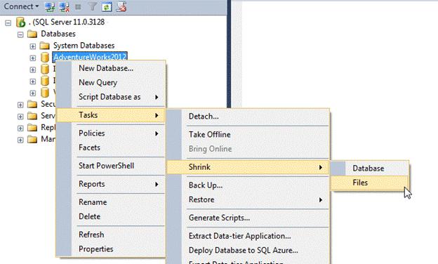 How to shrink SQL transaction log – Hostway Help Center