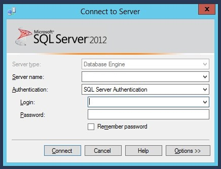 How To Restore A Database Using Mssql Server Management Studio 2012