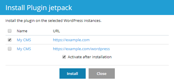 Managing Wordpress plugins in Plesk – Hostway Help Center