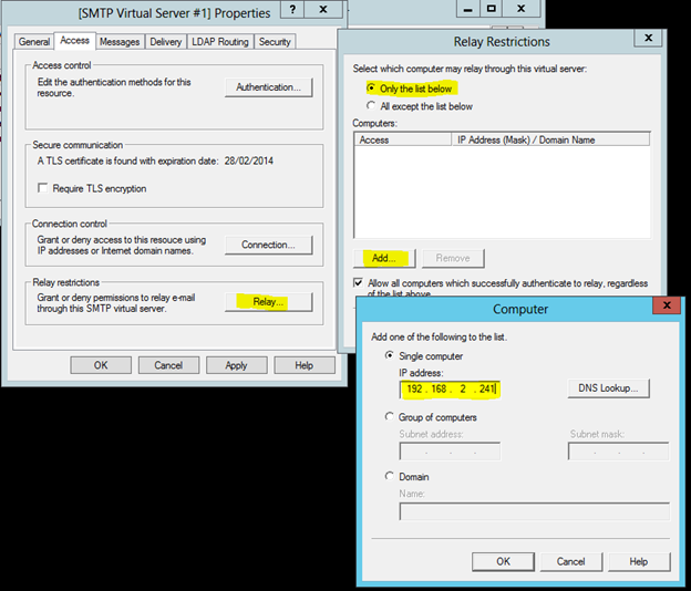 How to Set Up An Internal SMTP Service For Windows Server