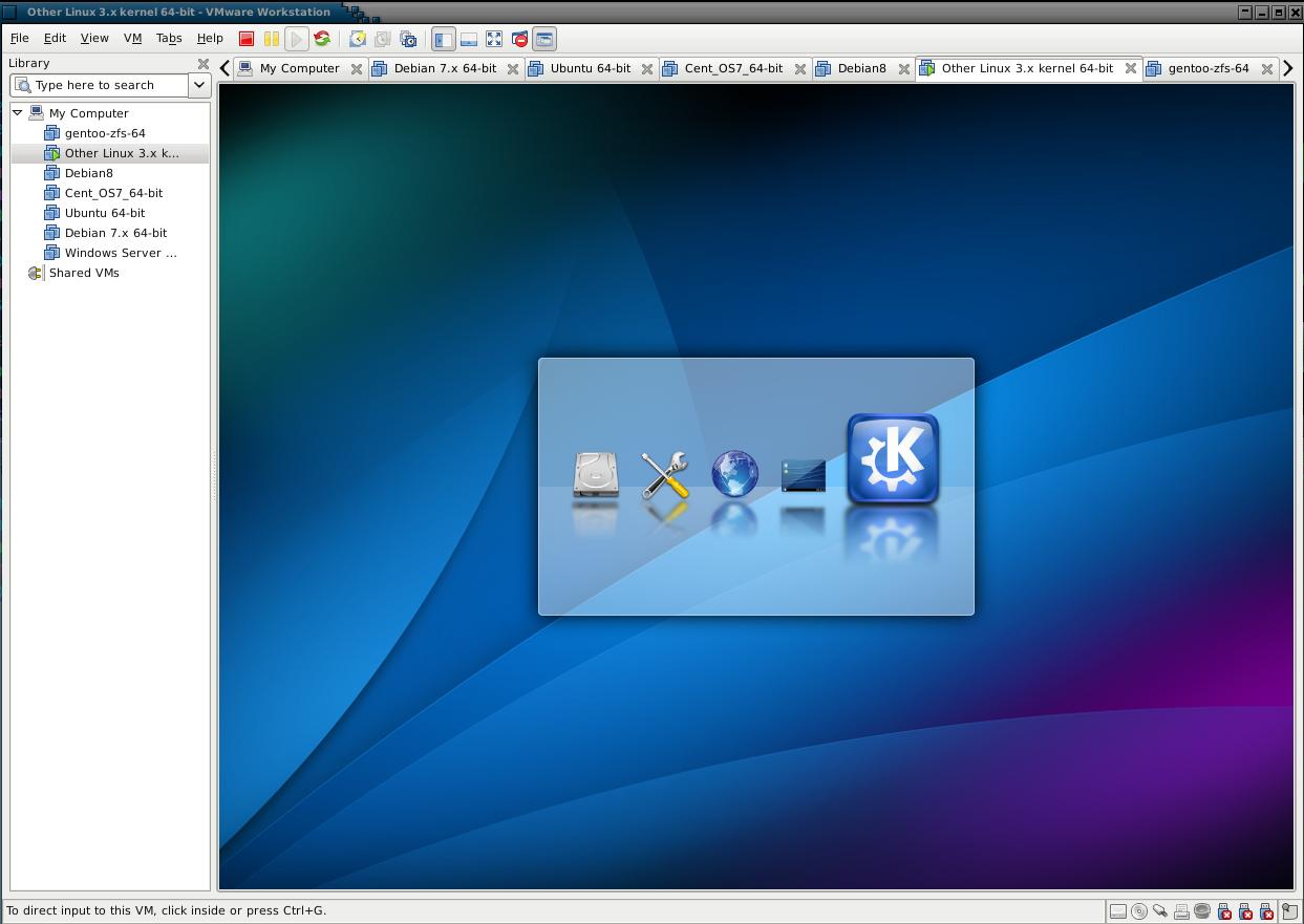Gentoo Linux Live CD – Hostway Help Center