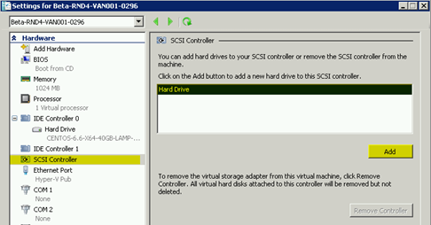 Add Virtual Disk in Hyper-V without Shutdown – Hostway Help