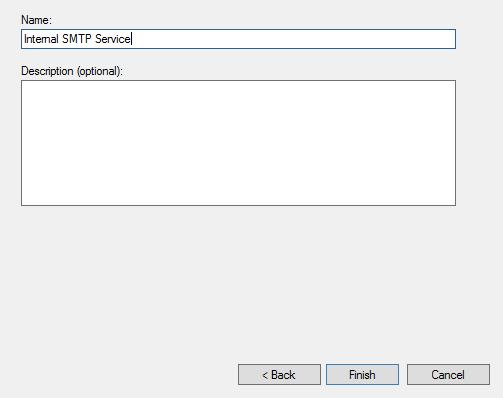 How to Set Up An Internal SMTP Service For Windows Server – Hostway
